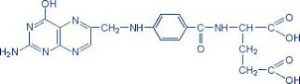 B4-vitamin molekulaszerkezete